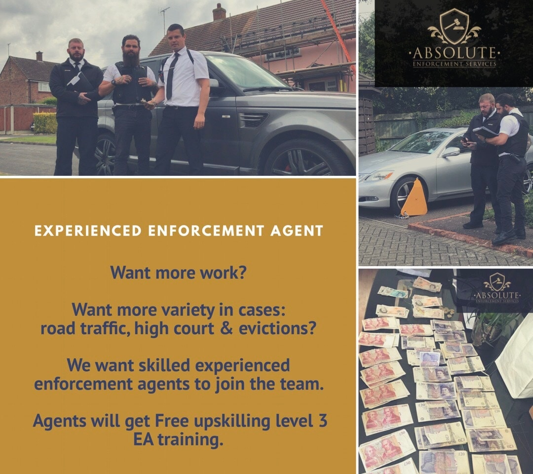 join the team absolute enforcement bailiff