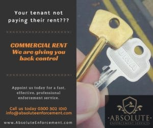 Commercial Rent, Absolute Enforcement giving you back control