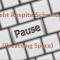 Debt Respite Scheme (Breathing Space)