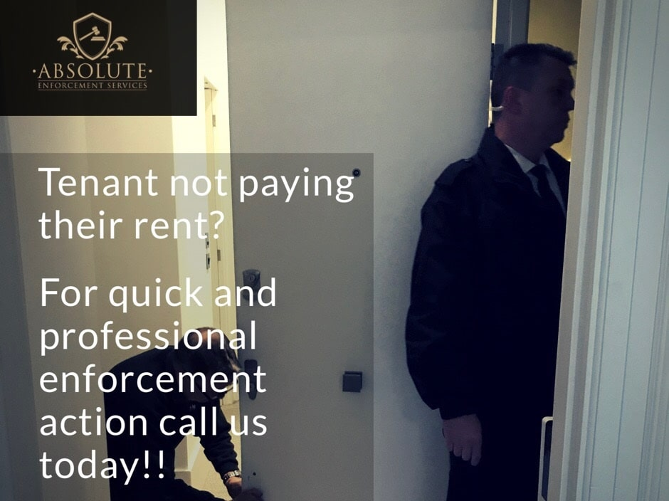 Tenant not paying their rent
