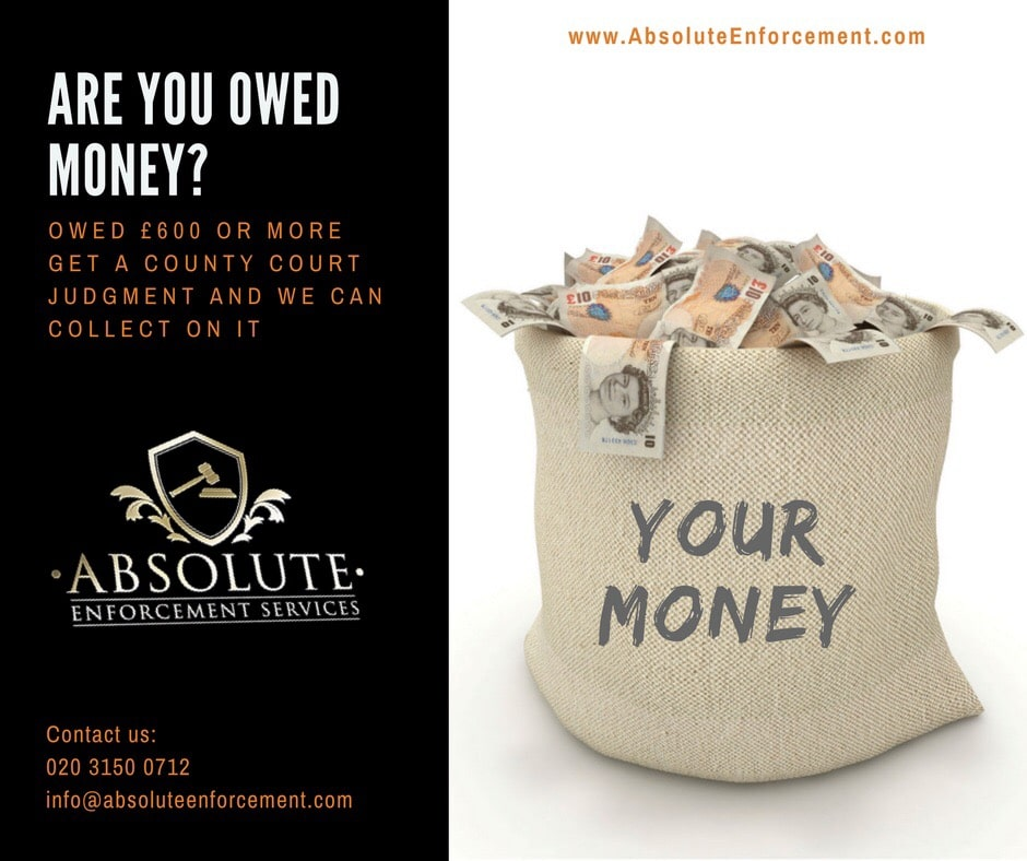 Your money, debt recovery