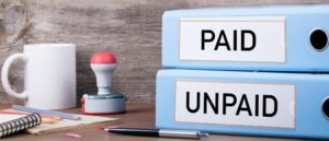 Paid Unpaid invoice debt recovery