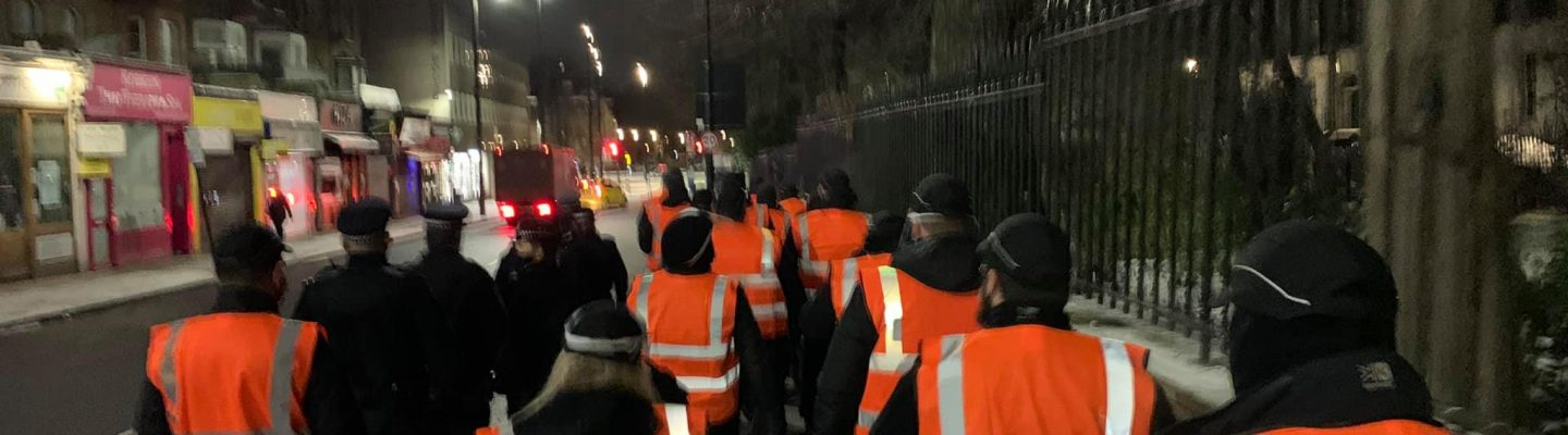Absolute Enforcement remove protesters
