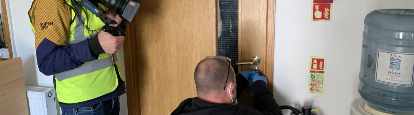 Absolute Locksmith on the Call the Bailiff TV Show