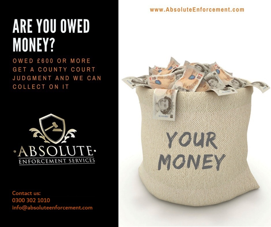 Are you Owed Money - High Court Enforcement